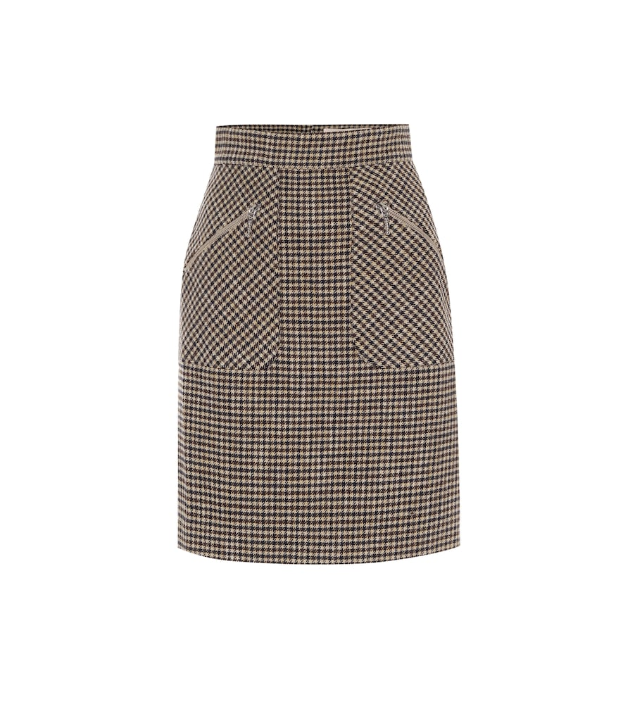 Judy houndstooth miniskirt