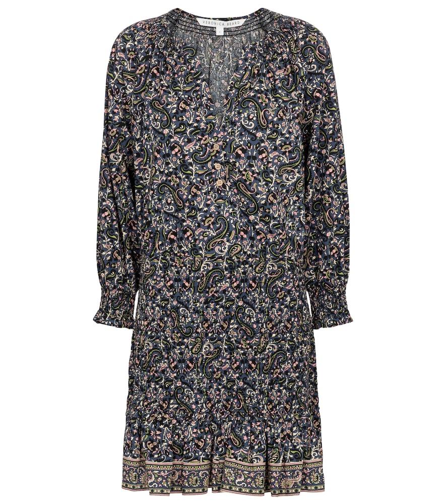 Veronica Beard Mini dresses KARLINA PAISLEY COTTON MINIDRESS