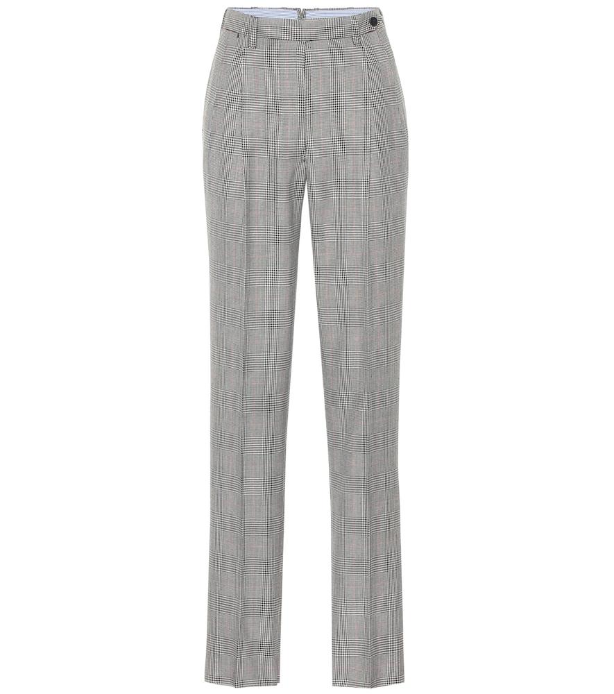 Pantalon The Cornelia en laine à carreaux