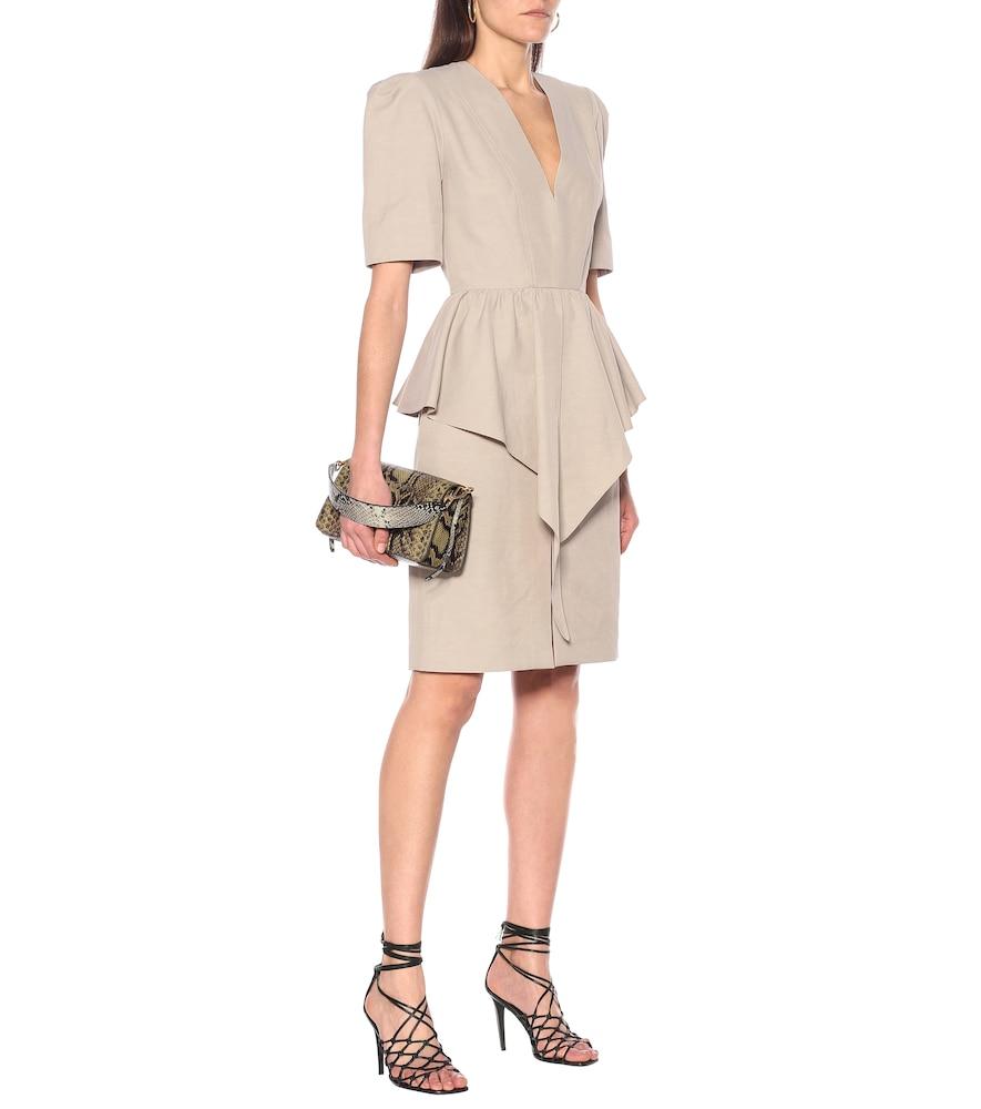 Peplum midi dress by Stella McCartney
