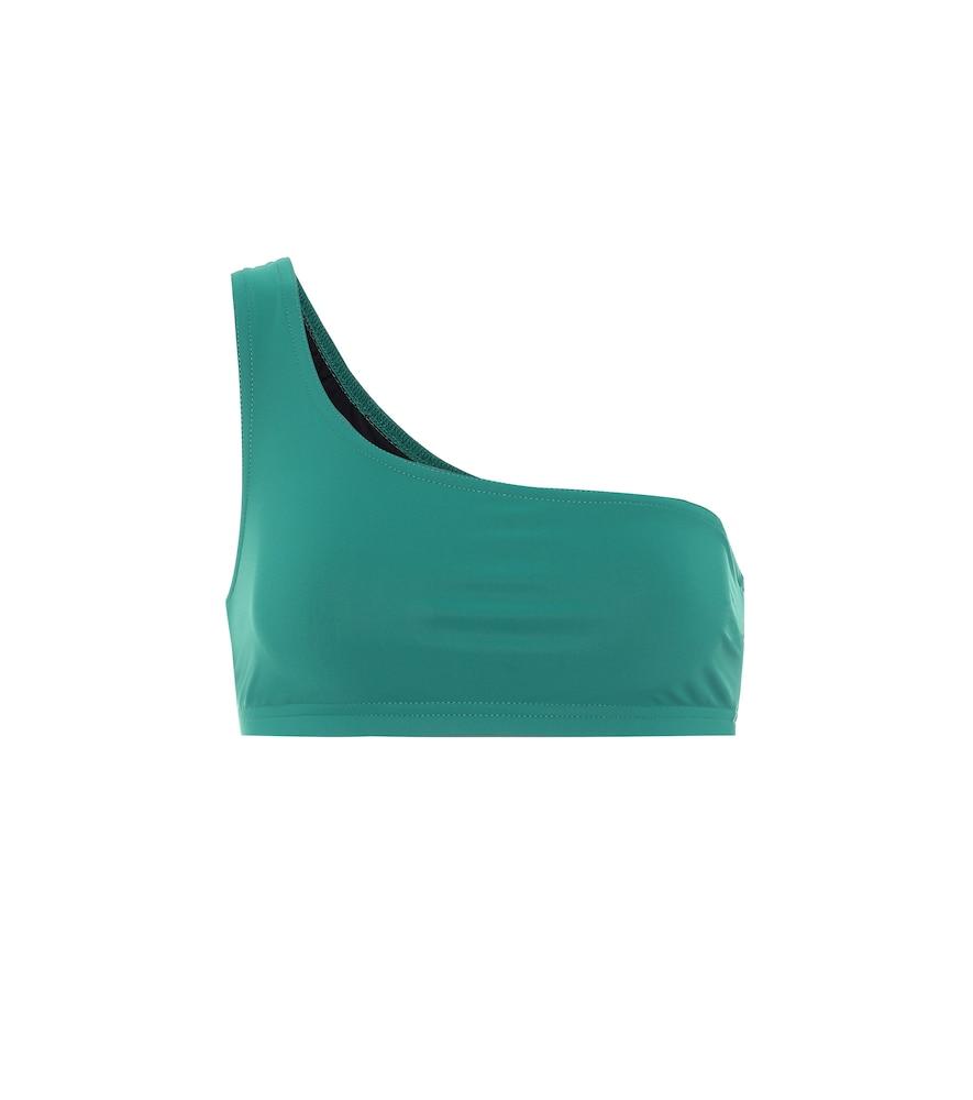 Basics one-shoulder bikini top
