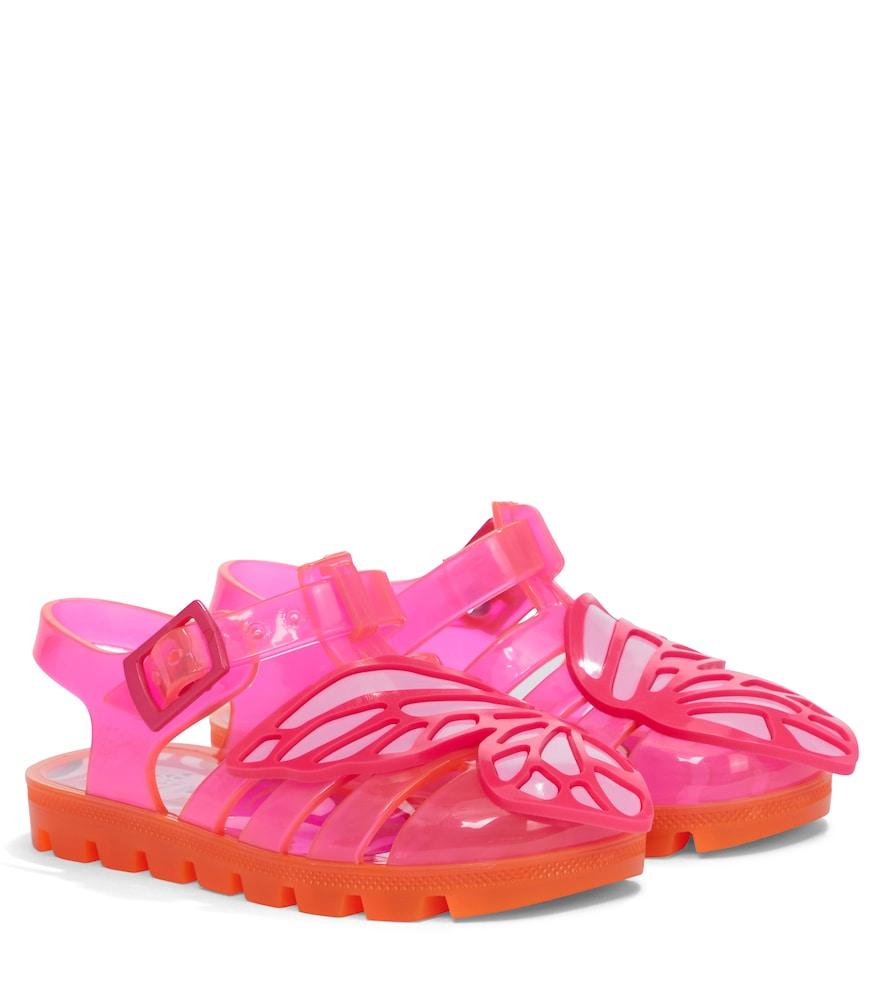 Sandales Butterfly en caoutchouc