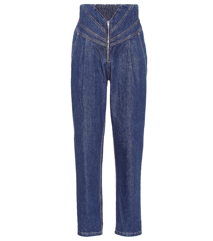 THE ATTICO | High-Rise Jeans | Goxip