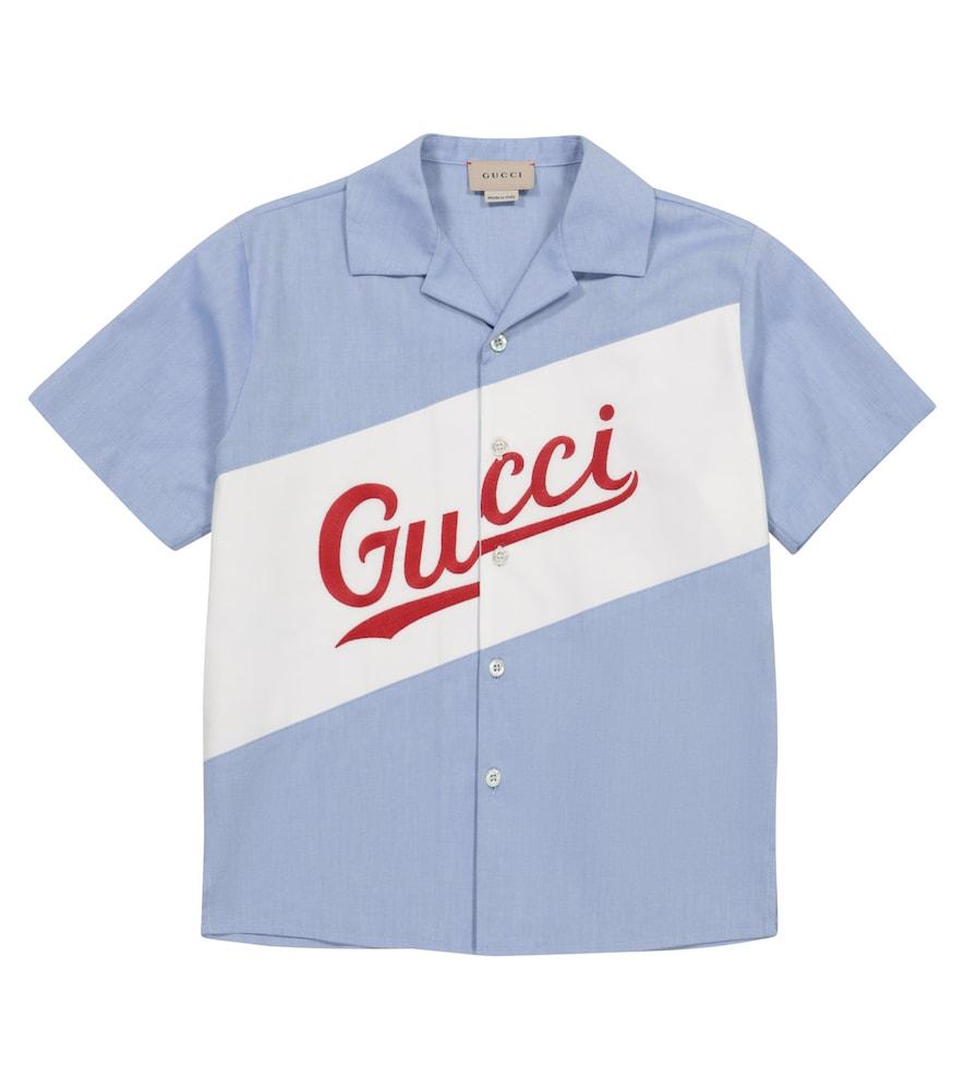 Gucci LOGO COTTON SHIRT