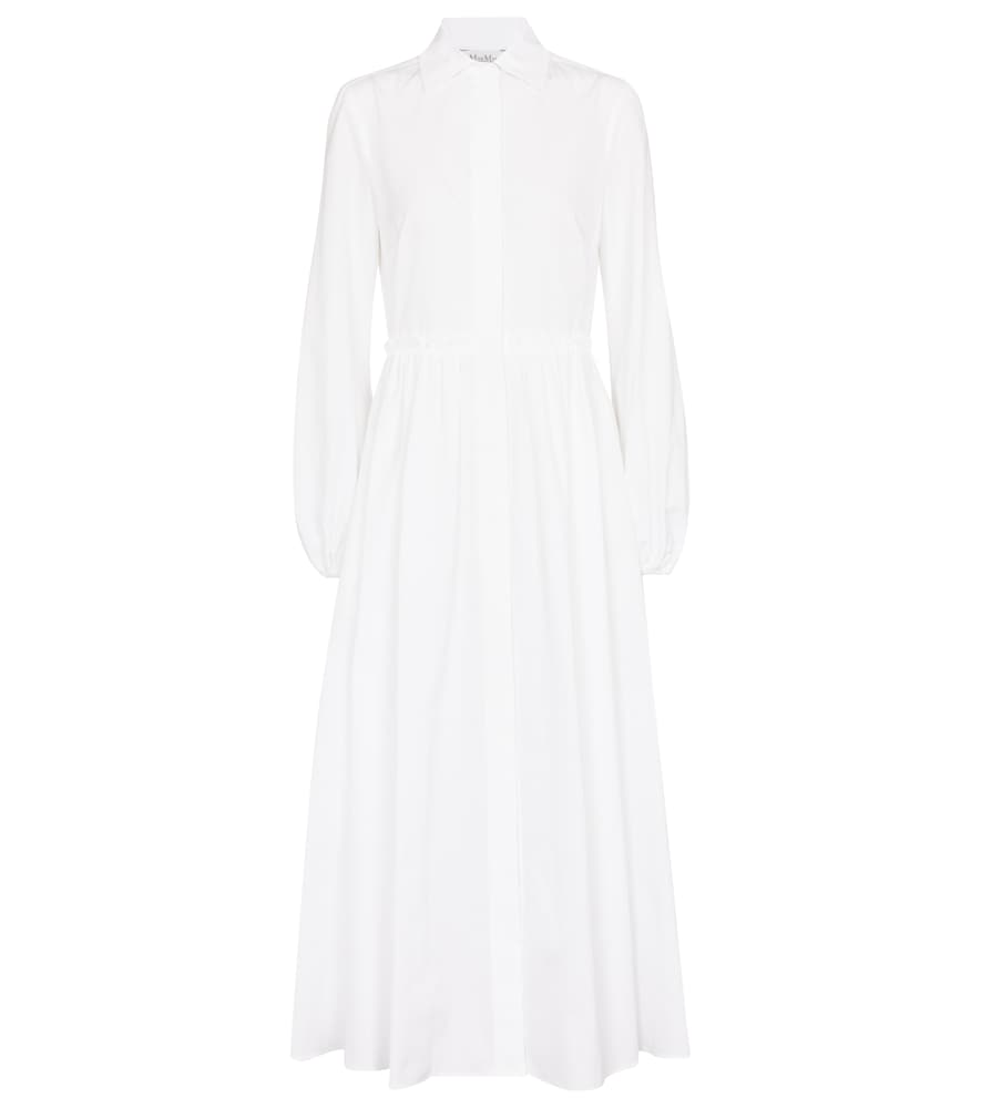 Max Mara BAIRO COTTON MIDI DRESS