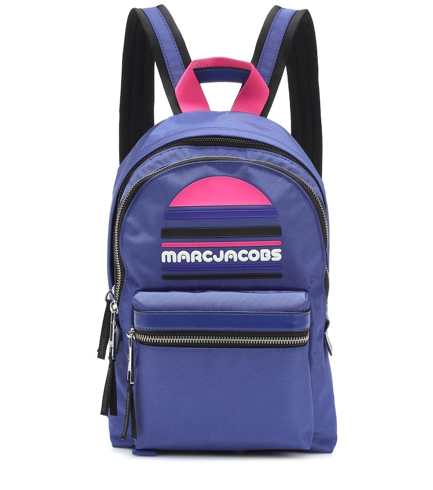 Trek Pack Large Logo Backpack in Blue