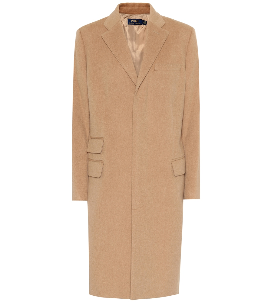 Wool And Cashmere Coat in Beige