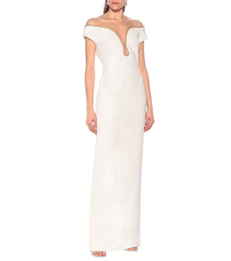 Lara stretch-cady gown by Stella McCartney