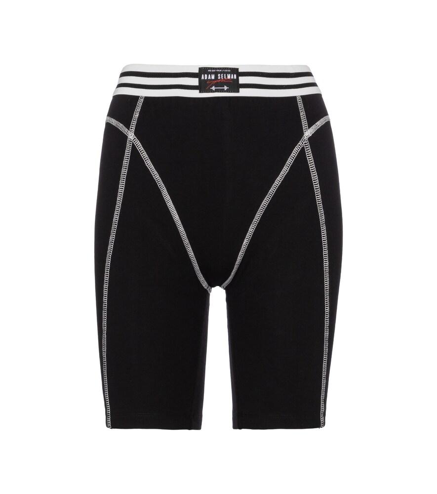 French Cut high-rise biker shorts