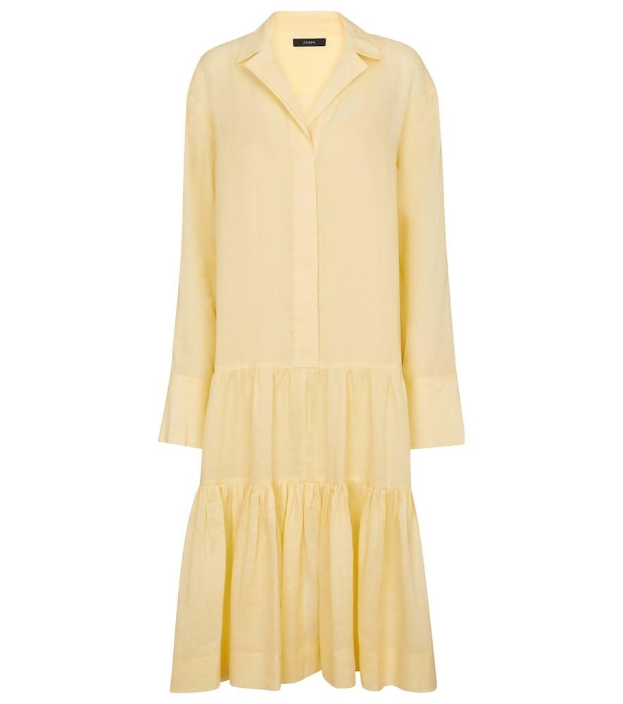 Joseph Linens DAN RAMIE SHIRT DRESS