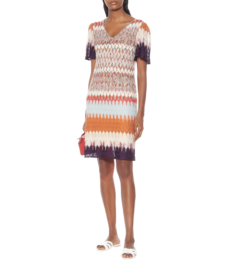 Stretch-silk knit midi dress by Missoni