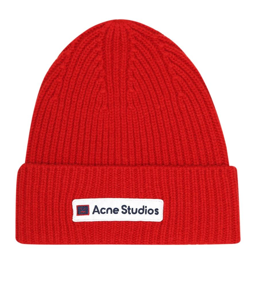 Bonnet en laine vierge - Acne Studios - Modalova