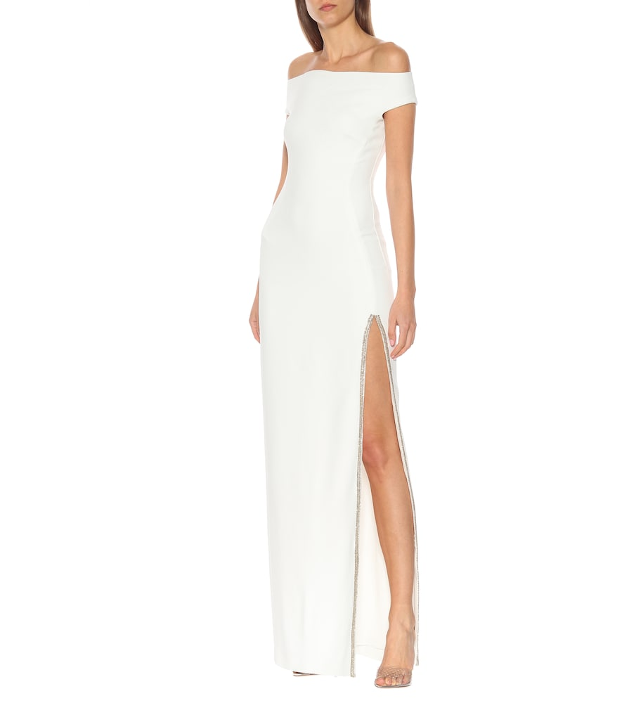 Embellished cr?e gown by Stella McCartney