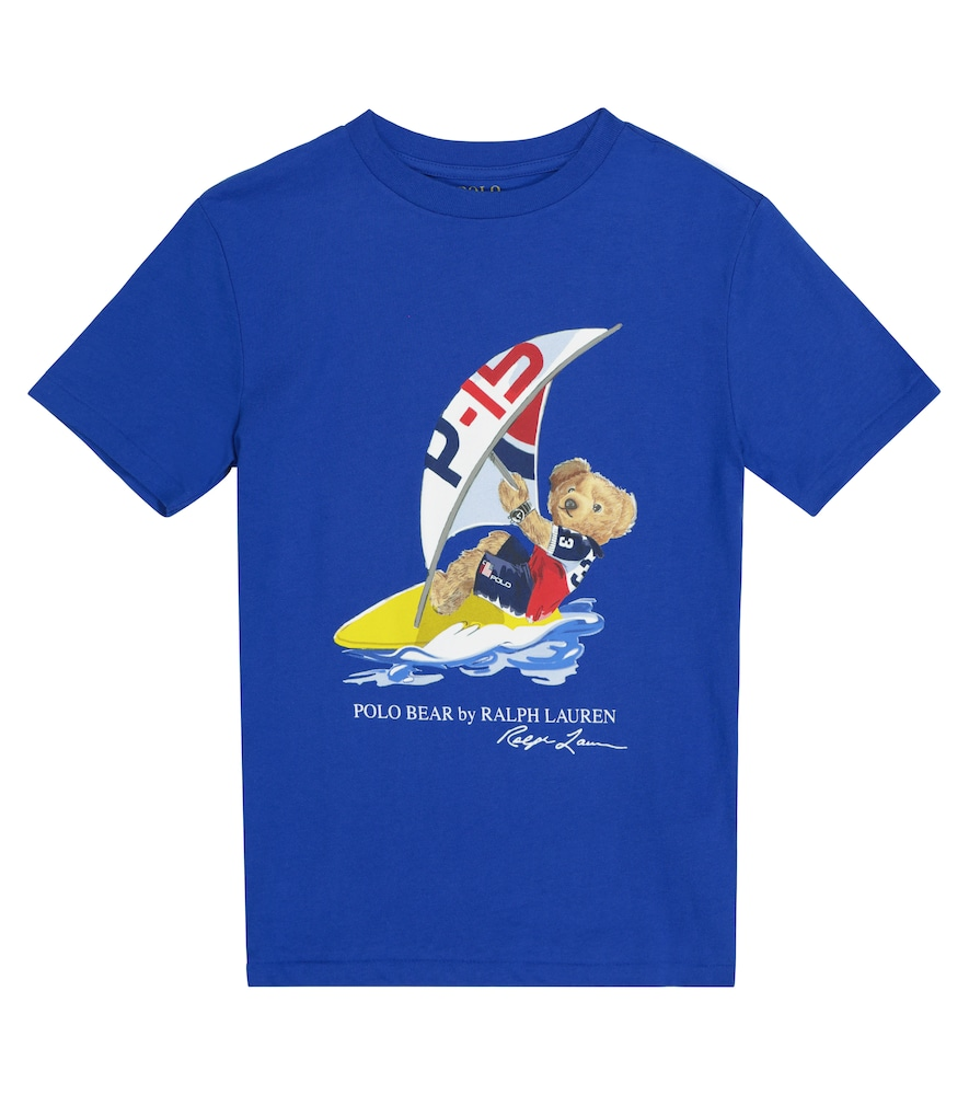 Polo Ralph Lauren PRINTED COTTON JERSEY T-SHIRT