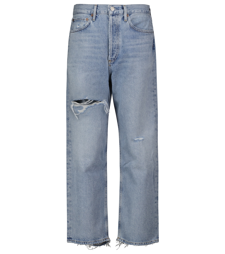 90's mid-rise straight jeans
