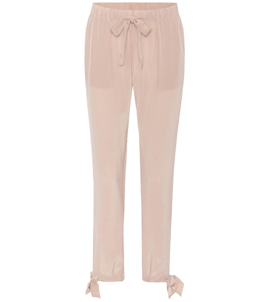 Pantalon en soie Sue
