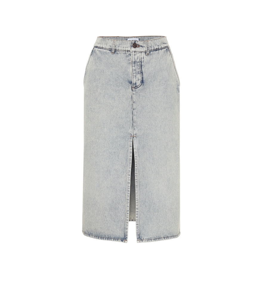 Jupe en jean - Balenciaga - Modalova