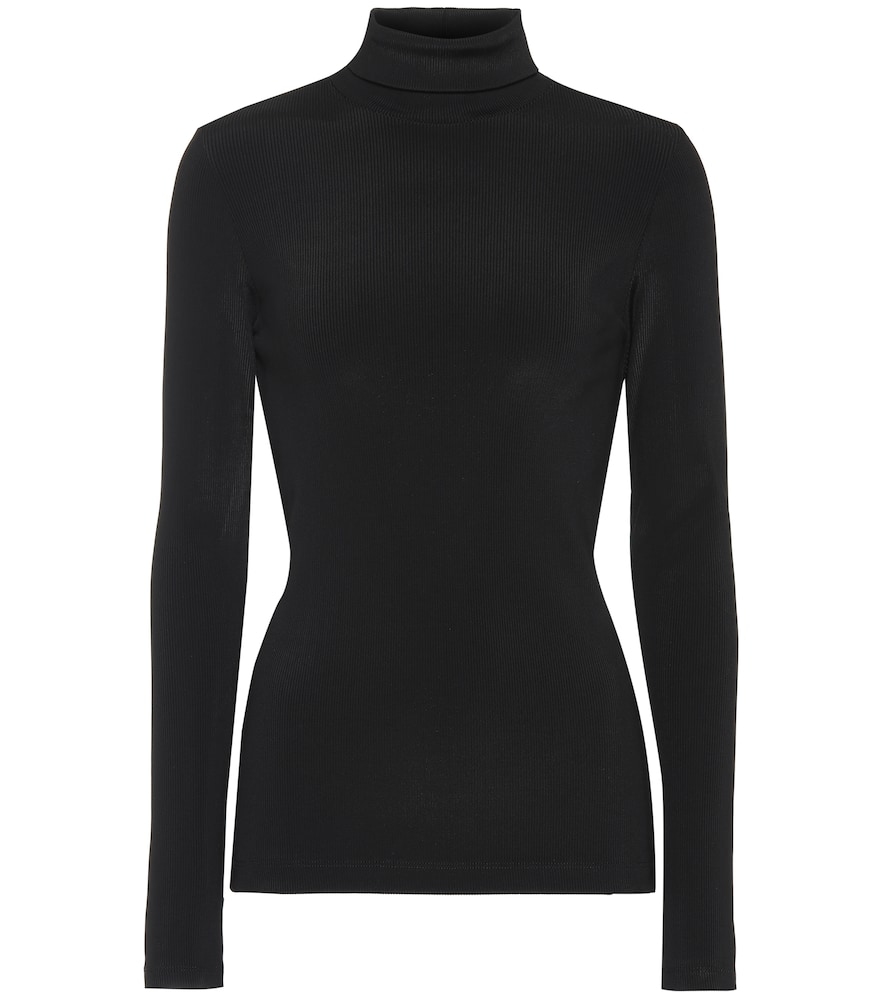 GOLDSIGN Turtleneck Sweater in Black