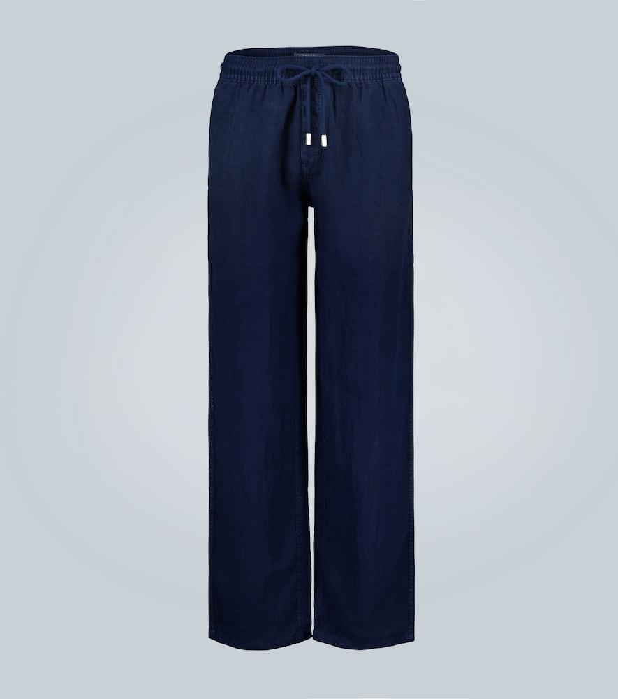 Pantalon en lin Pacha - Vilebrequin - Modalova