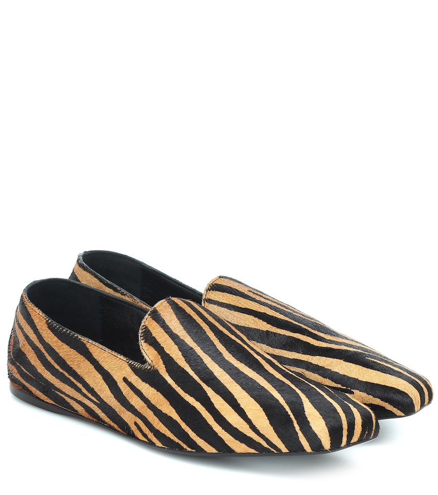 Cora calf hair loafers
