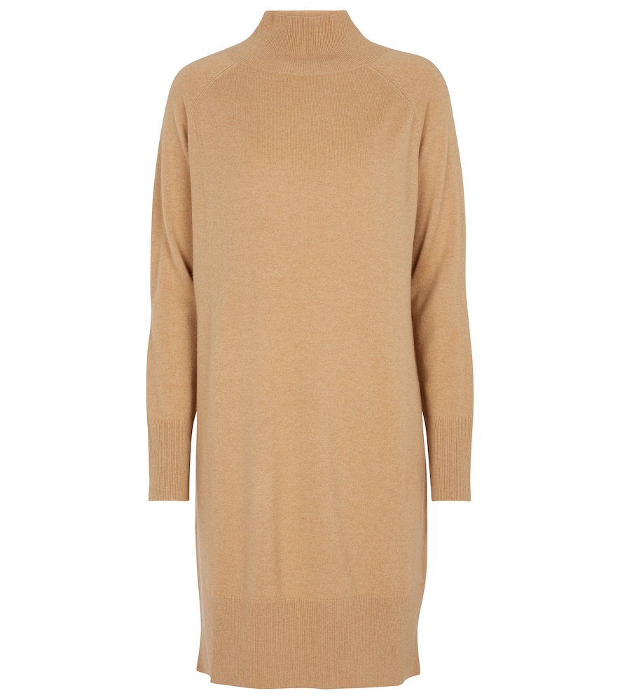 Turtleneck cashmere dress