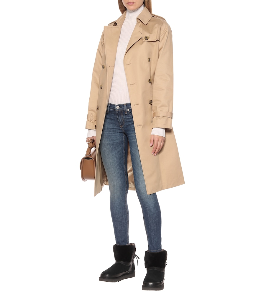 Classic Bow shearling suede boots by Ugg