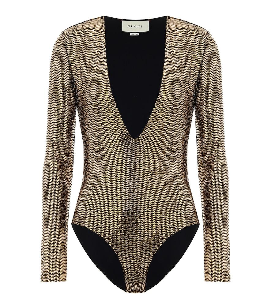 Body à sequins - Gucci - Modalova