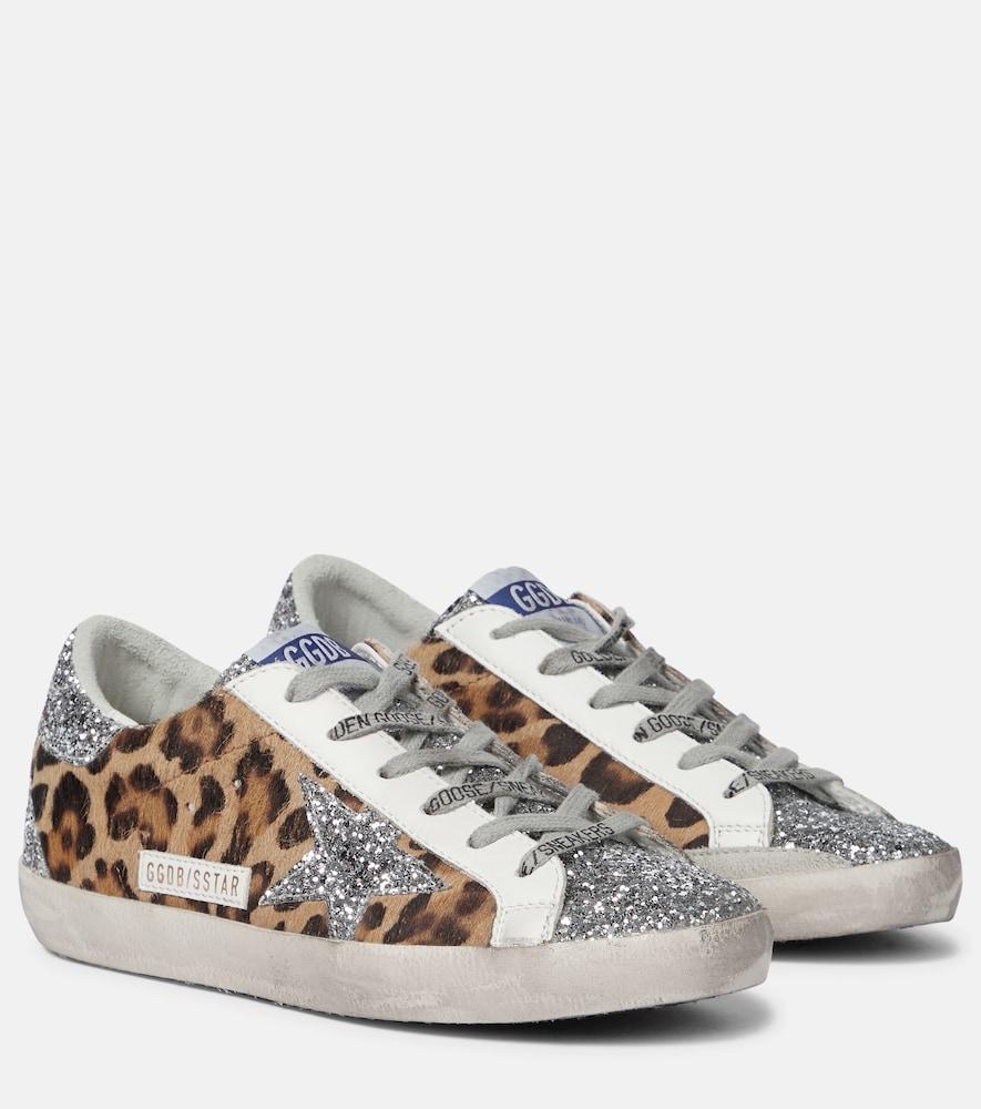 Superstar calf hair sneakers