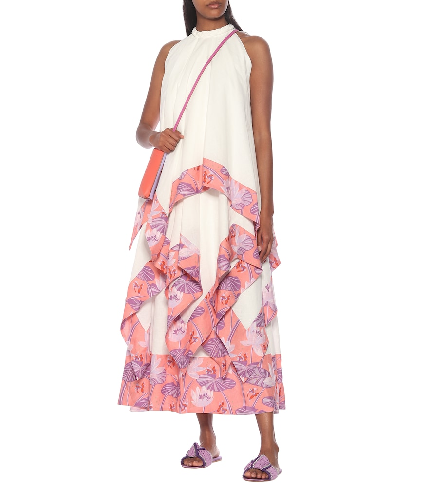 Paula's Ibiza linen and cotton maxi dress by Loewe