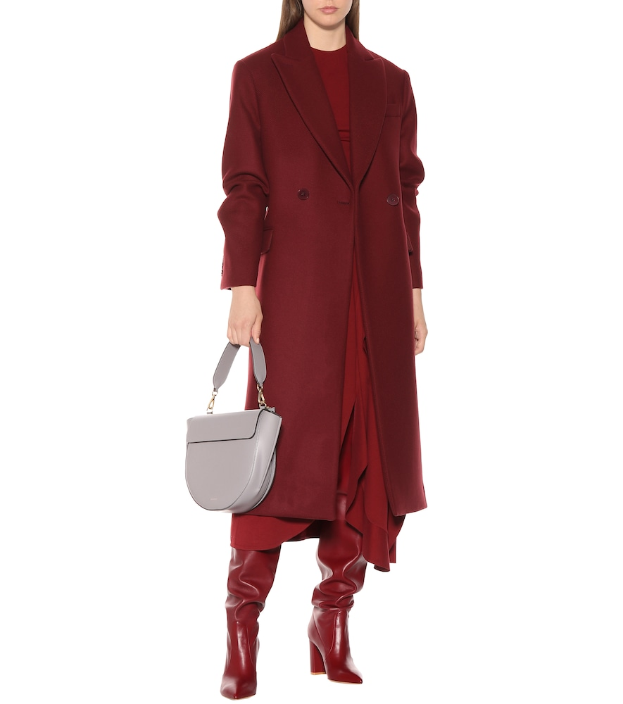 Double-breasted wool coat by Stella McCartney
