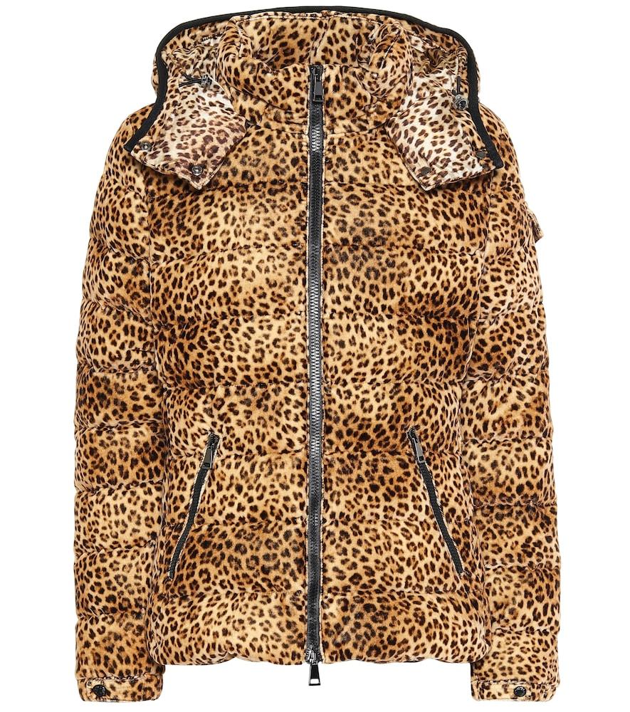 Bady leopard-print down jacket