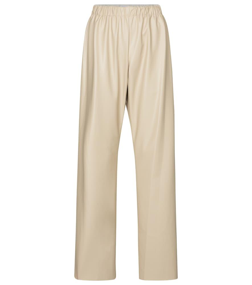Savannah faux leather pants