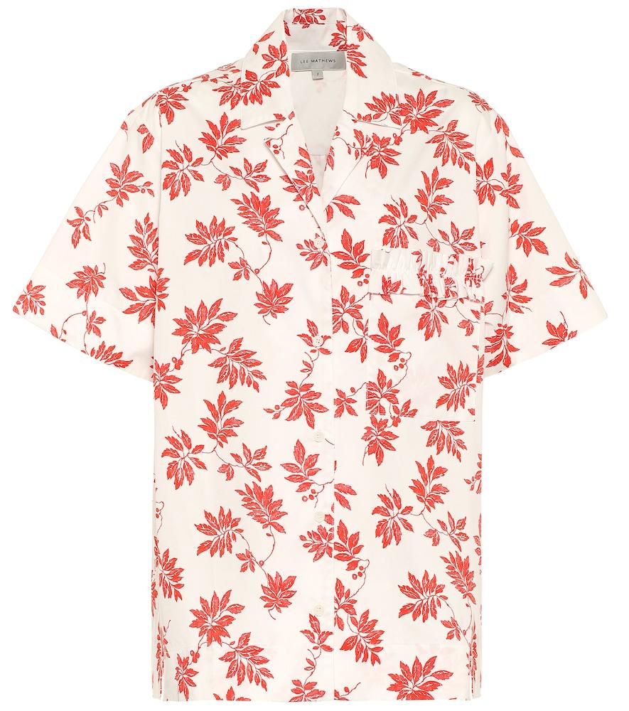 Lulu printed cotton shirt