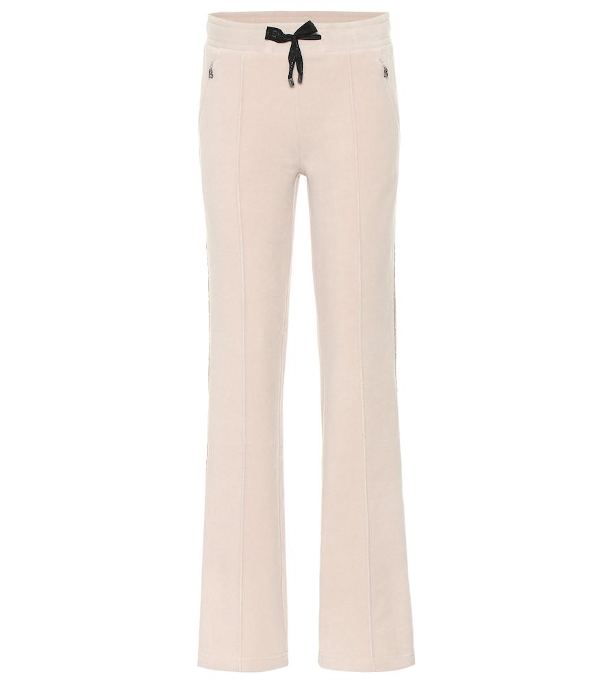 Jelina fleece straight leg pants