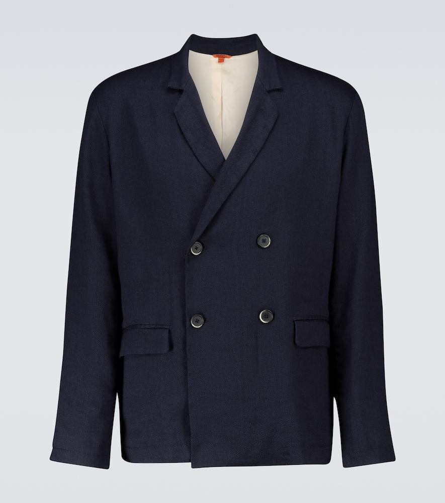 Marzaro Galone linen-blend blazer