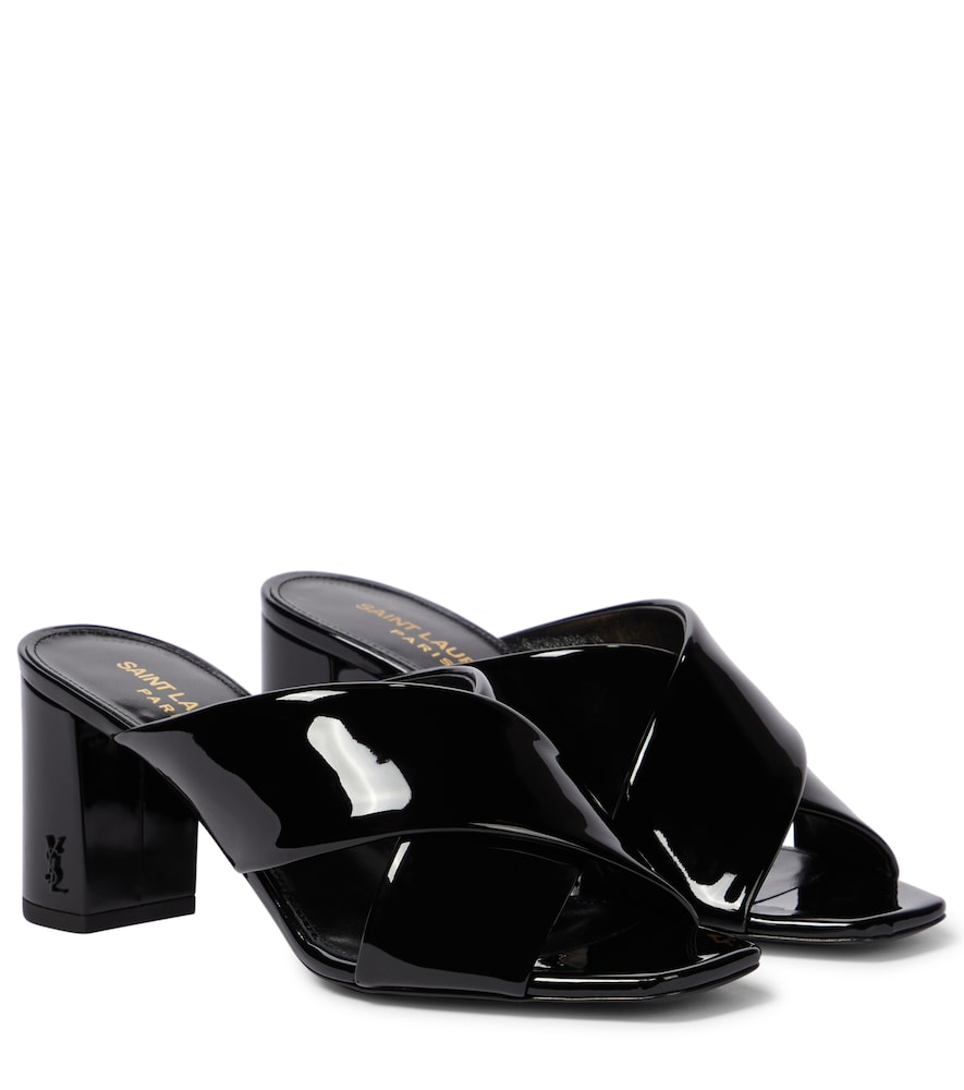 Loulou 70 patent leather sandals