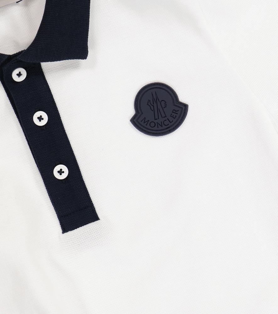 MONCLER Cottons COTTON POLO SHIRT AND SHORTS SET