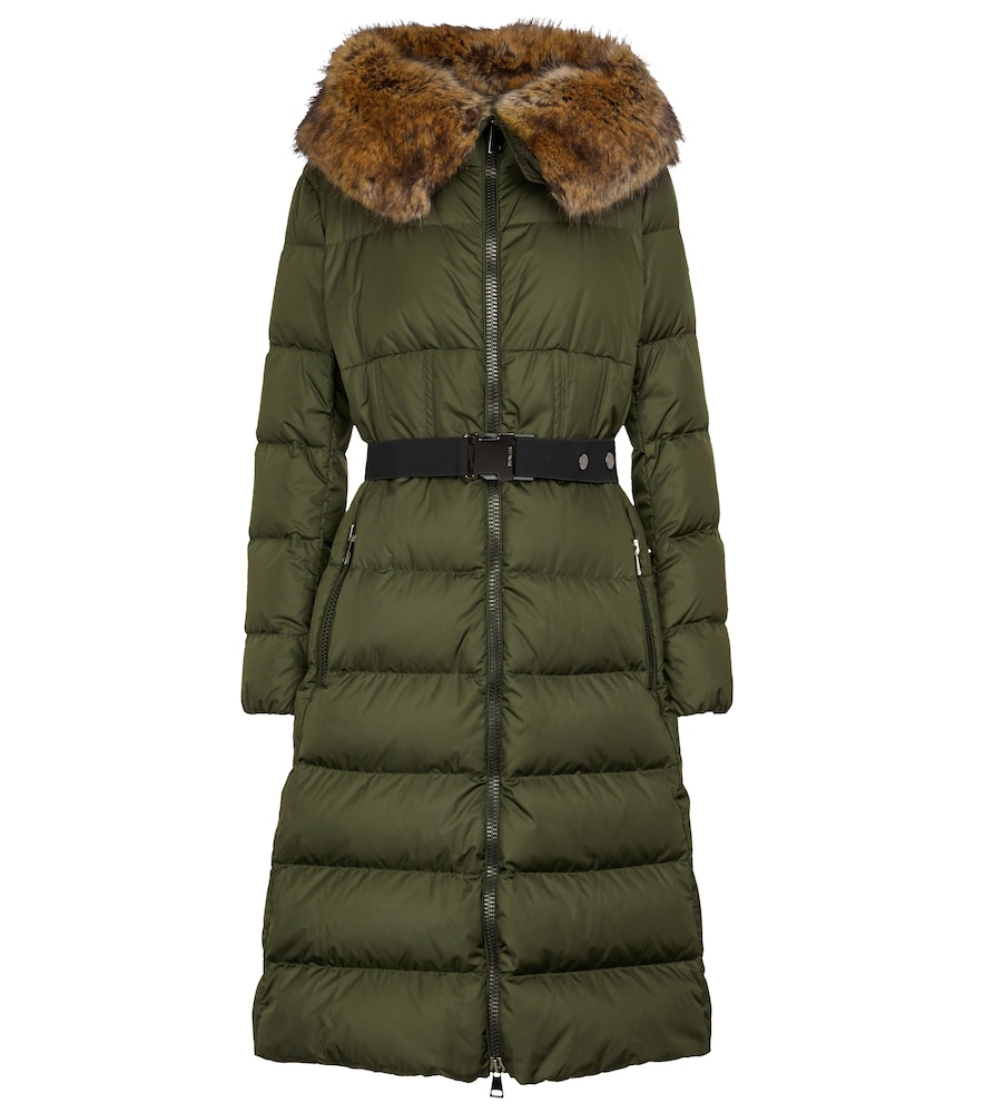 Boucage quilted down coat