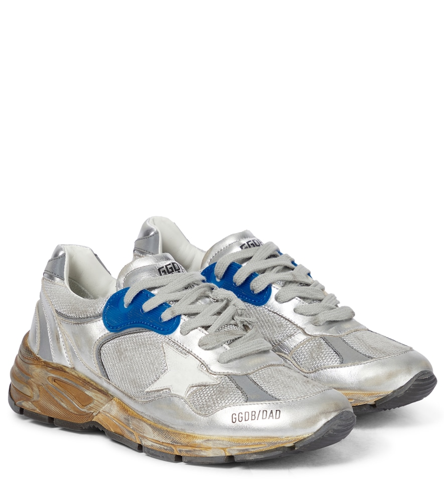 Running Dad leather sneakers