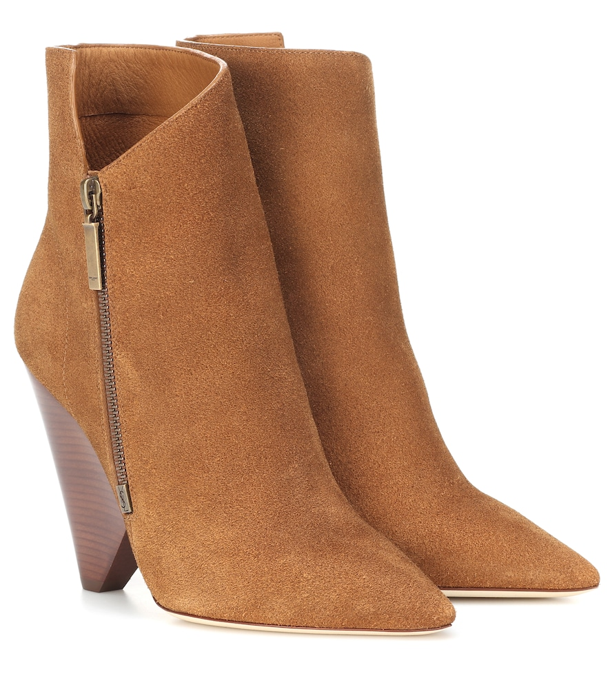 NIKI 105 SUEDE ANKLE BOOTS