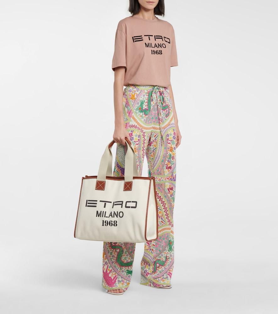 ETRO T-shirts EXCLUSIVE TO MYTHERESA - LOGO COTTON JERSEY T-SHIRT