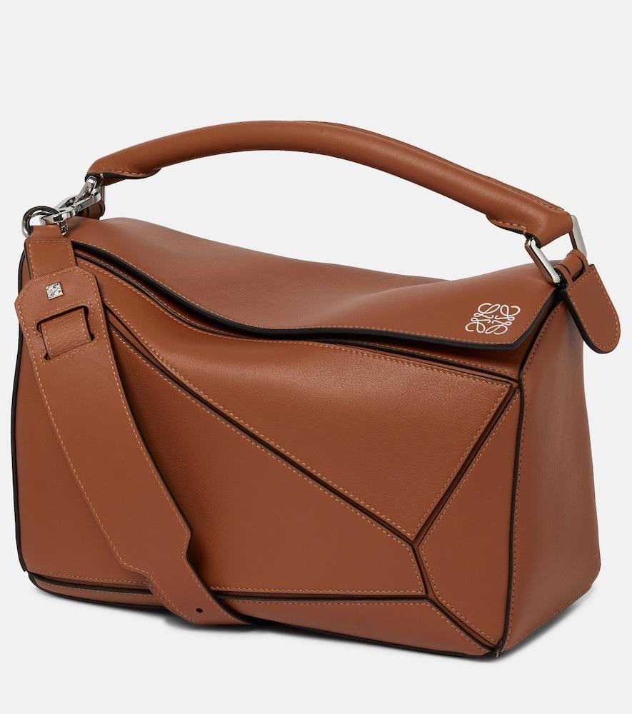 Puzzle Medium leather bag