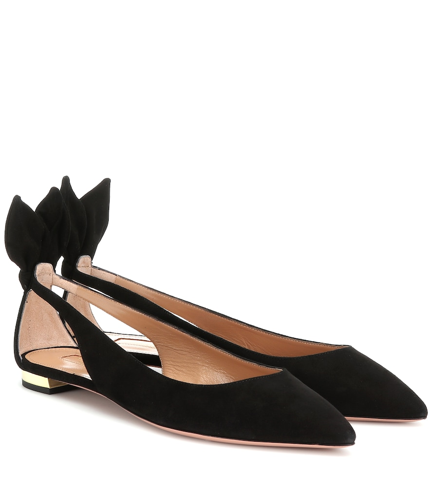 Forever Marilyn Suede Flats