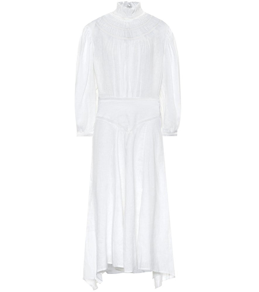 Albane linen midi dress by Isabel Marant, ?oile