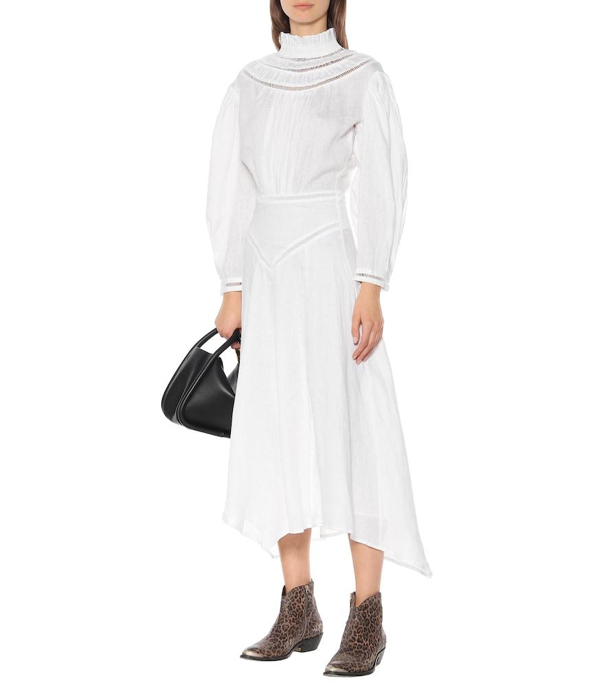 Albane linen midi dress by Isabel Marant, Étoile