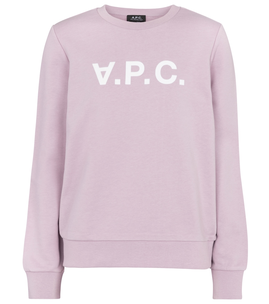 A.p.c. VIVA COTTON JERSEY SWEATSHIRT