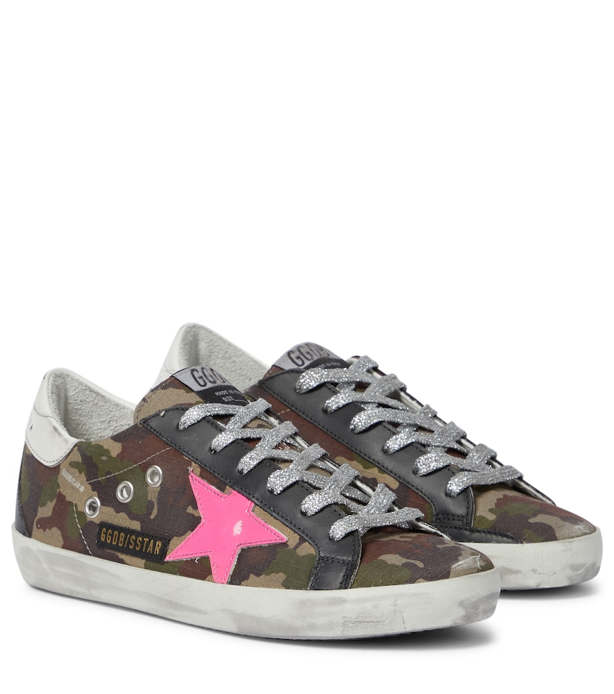 Superstar camouflage sneakers