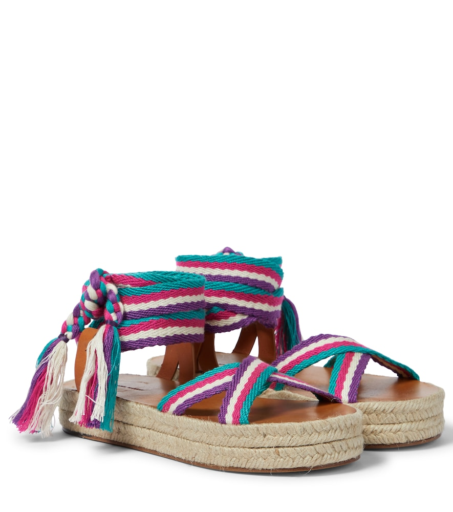 Isabel Marant MALAY ESPADRILLE SANDALS