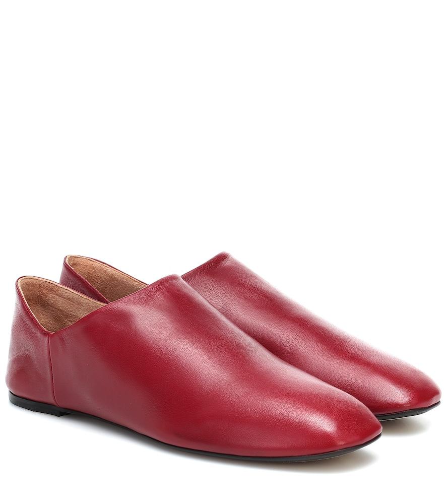 Slippers en cuir - Joseph - Modalova