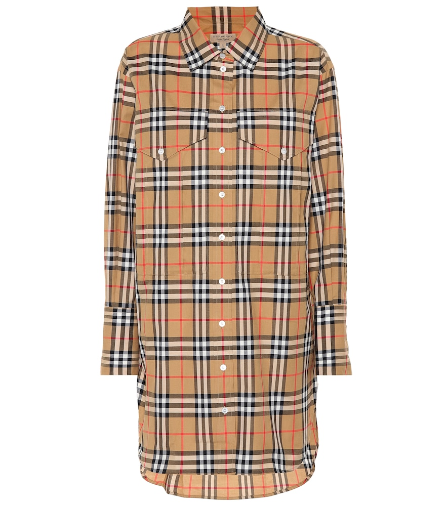 BURBERRY REDWING VINTAGE CHECK COTTON SHIRT